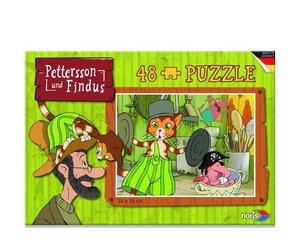 Pettersson Findus 48tlg. Puzzle Schabernack