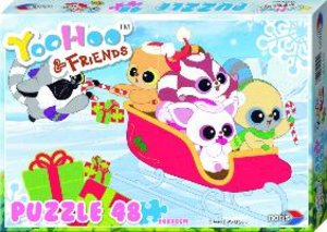 Noris 606031130 - Yoohoo and Friends: Winter, Puzzle, 48 Teile