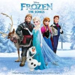 Frozen (Die Eiskönigin): The Songs,Englisch
