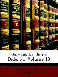OEuvres De Denis Diderot, Volume 13