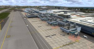 Flight Simulator X - Mega Airport Lissabon V2.0