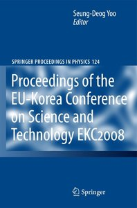 EKC2008 Proceedings of the EU-Korea Conference on Science and Te