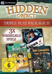Hidden Object Triple Play Package II