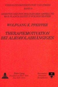 Therapiemotivation bei Alkoholabhängigen
