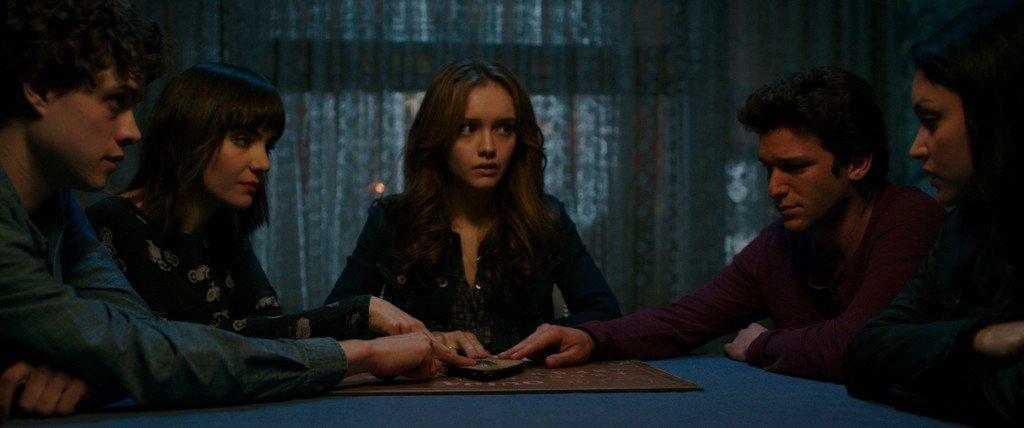 Ouija-Spiel nicht mit dem Teufel - zum Schließen ins Bild klicken