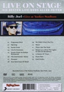 Live On Stage-Live At Yankee Stadium