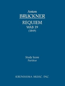 Requiem in D Minor - Study Score