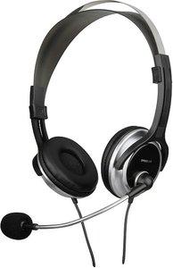 CHRONOS Stereo Headset SL-8728-BKSV schwarz/silber