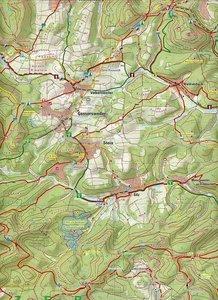 Naturpark Pfälzerwald Blatt 8 Östlicher Wasgau mit Bad Bergzaber