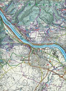 KuF Deutschland Outdoorkarte 31 Unterer Mittelrhein, Bonn bis Ko