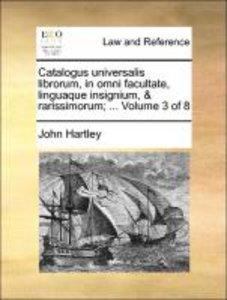 Catalogus universalis librorum, in omni facultate, linguaque ins