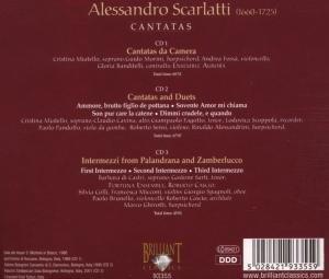 A.Scarlatti: Cantatas 3-CD