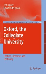 Oxford, the Collegiate University