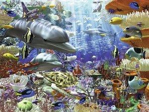 Leben unter Wasser. Puzzle 1500 Teile