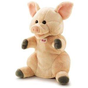 Trudi 29912 - Schwein, Handpuppe 25 cm