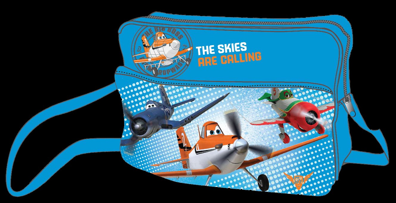 Disney Planes Umhängetasche, blau - zum Schließen ins Bild klicken