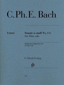 Sonate a-moll Wq 132 für Flöte solo