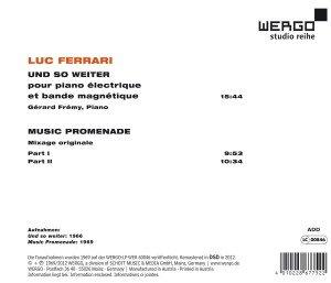 Und so weiter/Music Promenade