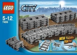LEGO® City 7499 - Flexible Schienen