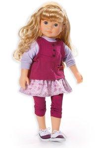 Bayer Design 94641 - Designer Girl Puppe Viola mit langen blonde