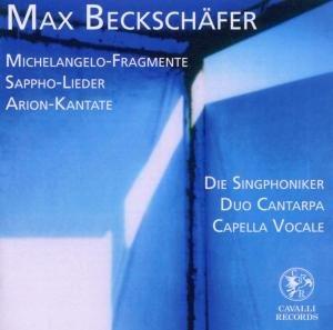 Michelangelo-Fragmente/Sappho-Lieder/Arion-Kantate