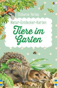 Natur-Entdecker-Karten: Tiere im Garten