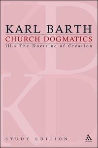 Barth, K: Church Dogmatics Study Edition 20