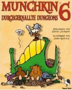 Pegasus Spiele 17123G - Munchkin 6: Durchgeknallte Dungeons