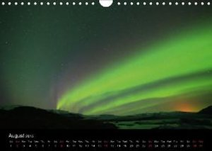 Iceland Northern Lights (Wall Calendar 2015 DIN A4 Landscape)