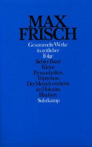 Gesammelte Werke in zeitlicher Folge 1976 - 1985