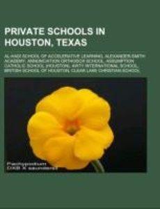 Private schools in Houston, Texas