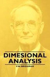 Dimesional Analysis