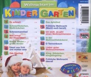 Weihnachten im Kindergarten