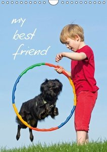 my best friend / UK-Version (Wall Calendar 2015 DIN A4 Portrait)