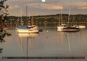 Flori0: Seestärke - Der Ammersee (Wandkalender 2015 DIN A3 q