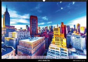 New York in Colors 2014 (Wandkalender 2014 DIN A3 quer)