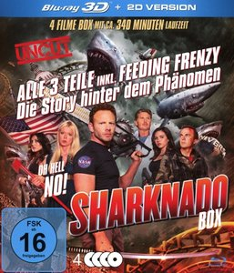 Sharknado 1-3 Deluxe-Box-Edition (3 Blu-rays Plus
