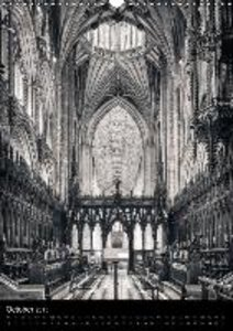 English Medieval Cathedrals (Wall Calendar 2015 DIN A3 Portrait)