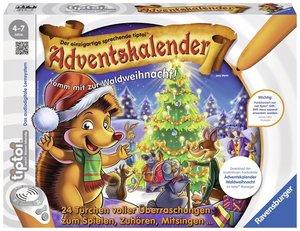 Ravensburger tiptoi 00758 - Adventskalender, Waldweihnacht der T