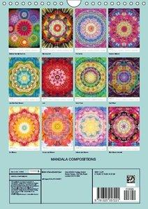 MANDALA COMPOSITIONS (Wall Calendar 2016 DIN A4 Portrait)