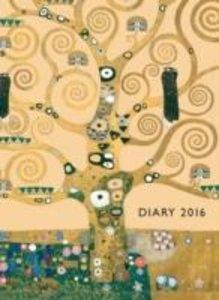 KLIMT Tree of Life Pocket Diary 2016