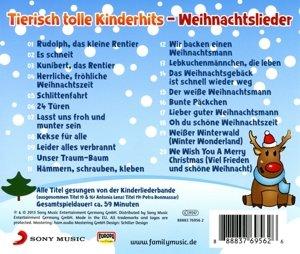 Tierisch tolle Kinderhits - Weihnachtslieder