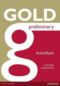 Gold Preliminary Active Teach. CD-ROM