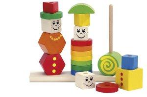 Heros 100073422 - Holz Figuren Steckpuzzle, 20-teilig
