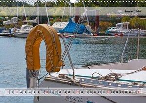 Sailing Details (Wandkalender 2016 DIN A3 quer)