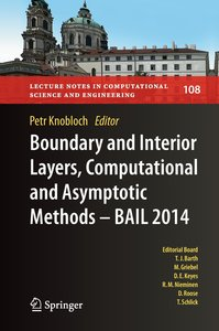 Boundary and Interior Layers, Computational and Asymptotic Metho