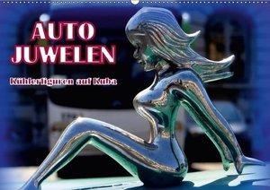 Auto-Juwelen - Kühlerfiguren in Kuba (Wandkalender 2017 DIN A2 q