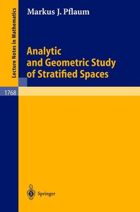 Analytic and Geometric Study of Stratified Spaces