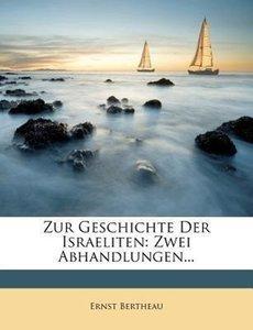 Zur Geschichte der Israeliten.