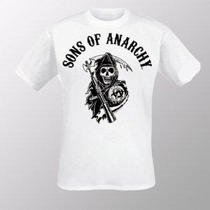 Vintage Reaper Logo (Shirt M/White)